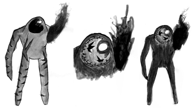 Early Corrupted Concept Art