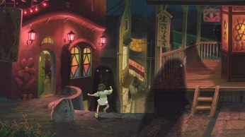 Spirited Away Shadows